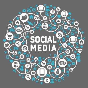 social media presence circle