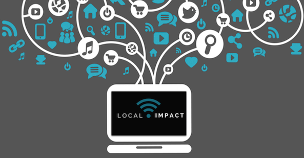 Local Impact Creative Footer Design