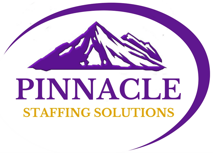Pinnacle Staffing Solutions logo.
