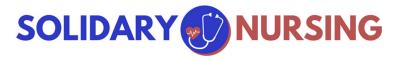 Solidary Nursing logo.