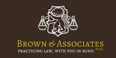 Brown & Associates logo.